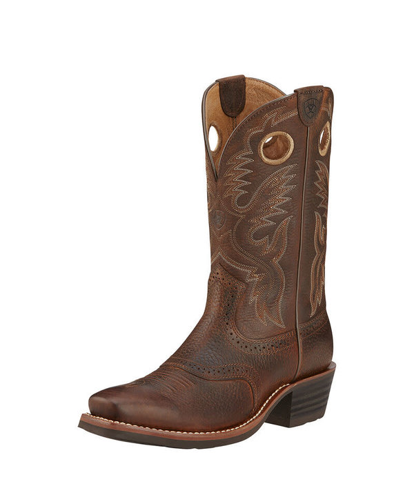 Botte Ariat - Heritage Roughstock - Brown Oiled Rowdy