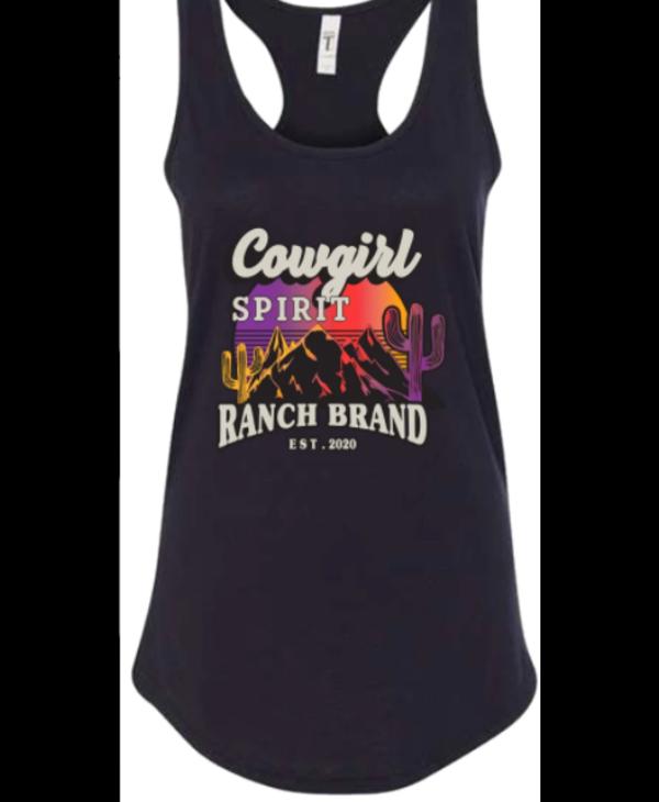 Camisole Ranch Brand Cowgirl Spirit