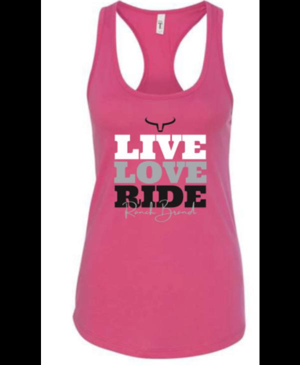 Camisole Ranch Brand Live Love Ride