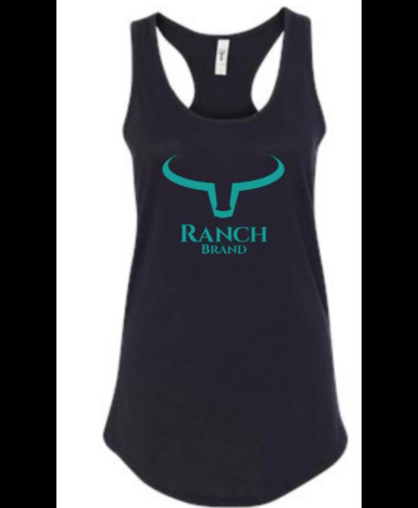 Camisole Ranch Brand Noir/Teal