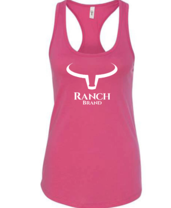Camisole Ranch Brand Blanche et Rose
