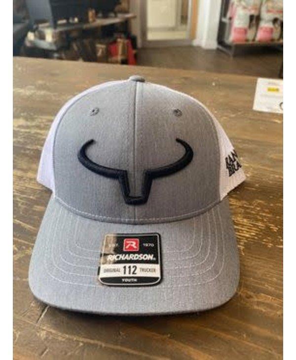 Casquette Ranch Brand Grise - Logo Noir
