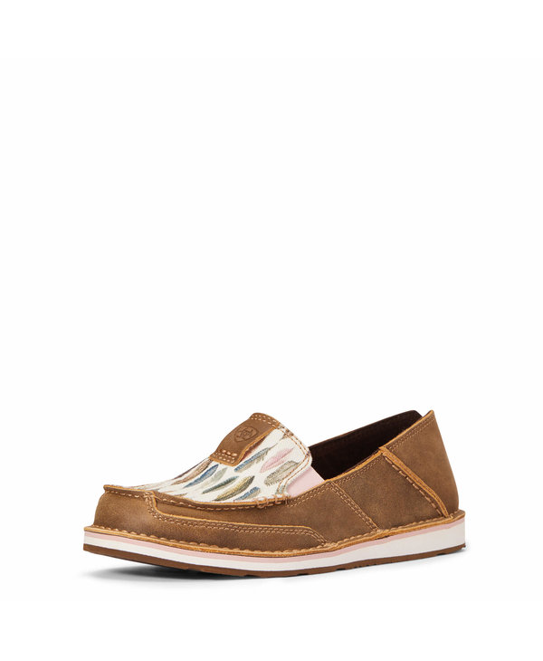 Cruiser Ariat - Brown Bomber / Watercolor Feather