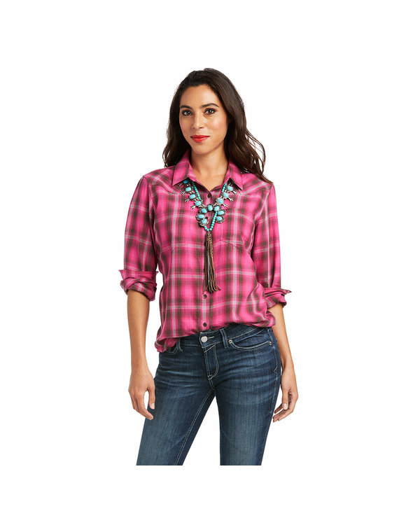 Chemise Real Billie Jean Persian Red