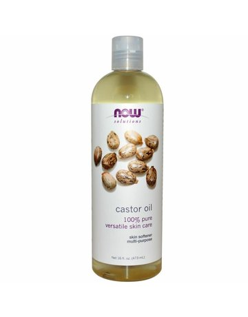 NOW Castor Oil 100 percent Pure 16 oz