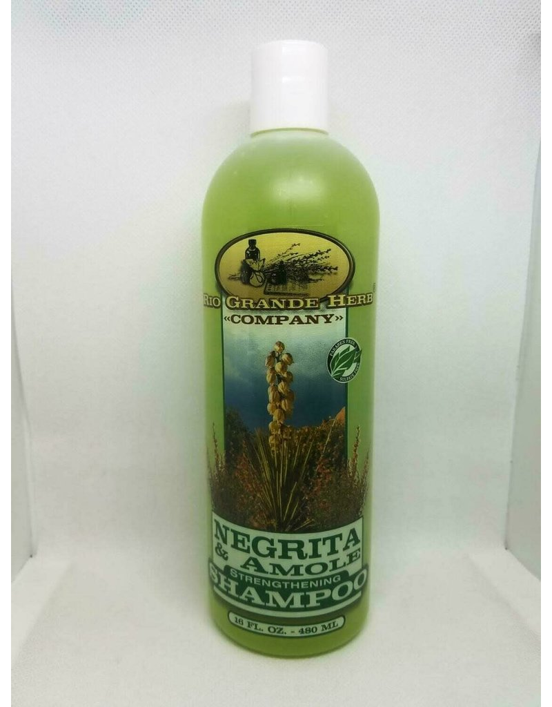 Rio Grande Herb Negrita and Amole Shampoo 16 oz