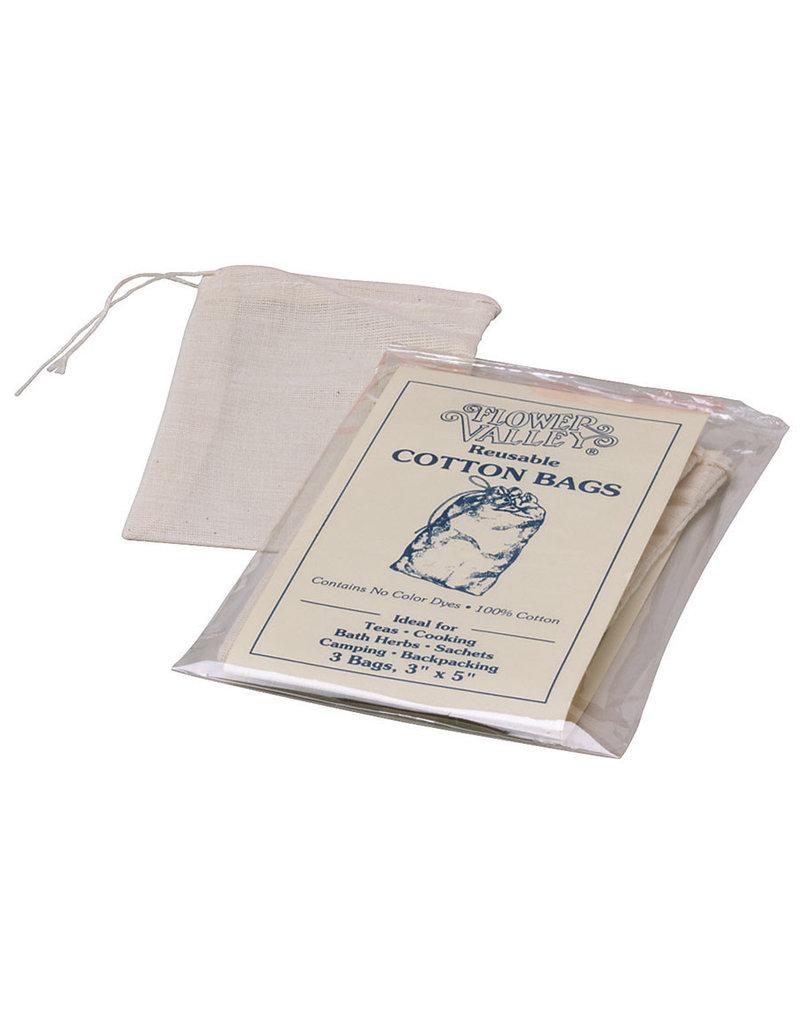 Flower Valley Flower Valley Reusable Cotton Tea Bags