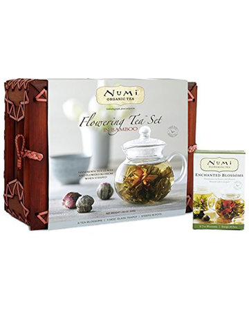 Frontier Coop Numi Tea Bamboo Flowering Tea Gift Set