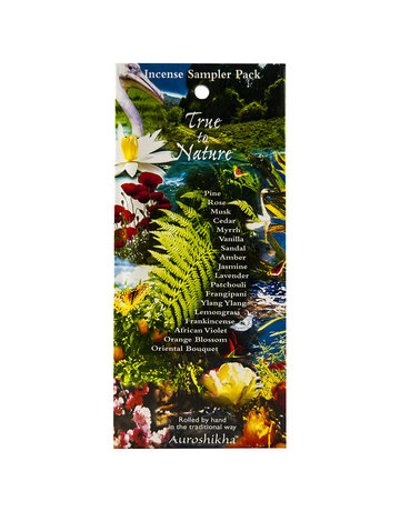 Auroshikha Auroshikha Incense 18-Piece Fragrance Sampler