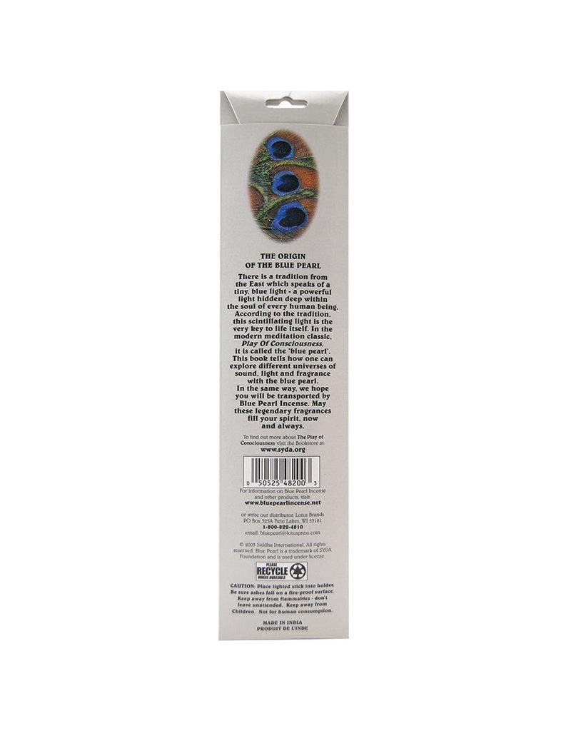 Blue Pearl  Blue Pearl Premium Silver Lotus Incienso 20 gms