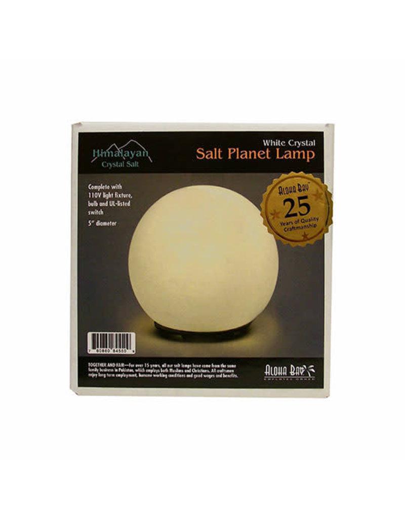 Aloha Bay ALOHA BAY HIMALAYAN SALT LAMPS WHITE SALT PLANET 5-6 LBS.