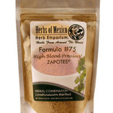 Herbs of Mexico Blood Pressure Formula #75  2 oz pouch powdered