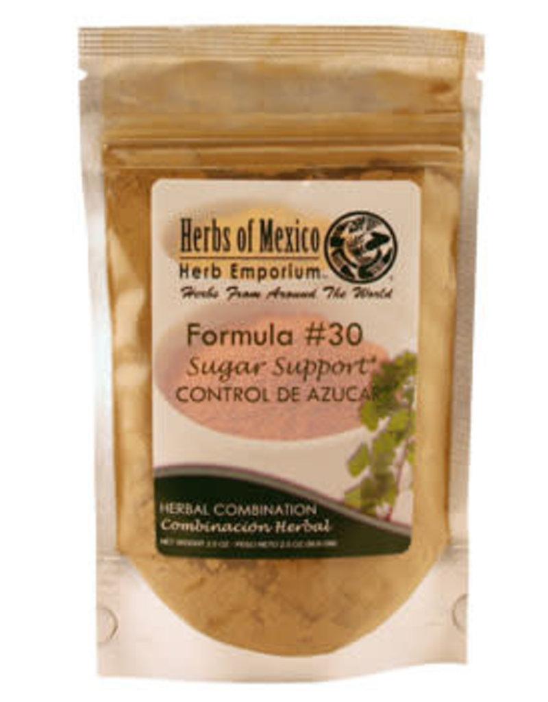 Herbs of Mexico Blood Sugar Formula # 30 2 oz powdered pouch