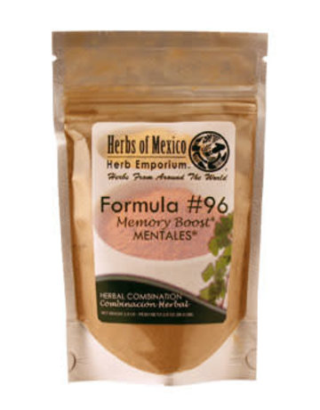 Herbs of Mexico Forumula #96 Mentales/Memory Boost Pouch 2 oz