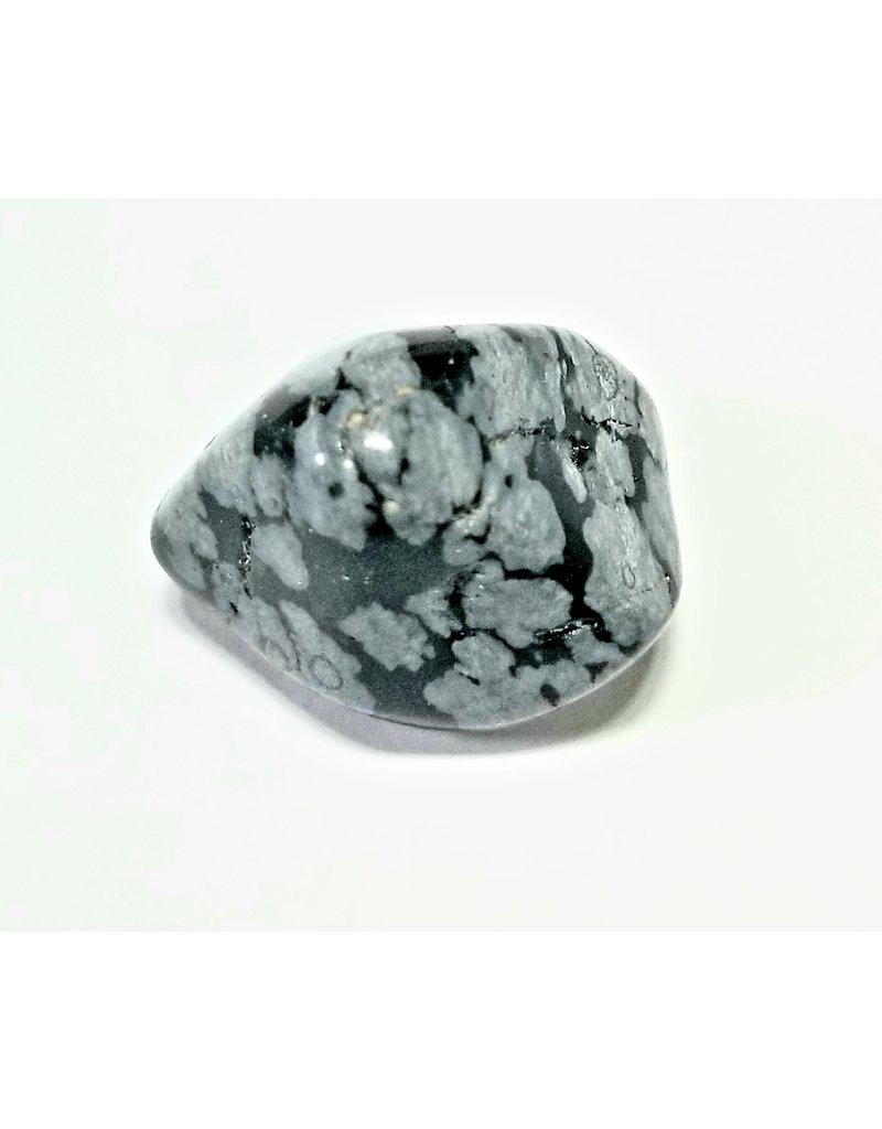 Snowflake Obsidian  small 1cm1/2 cm diameter