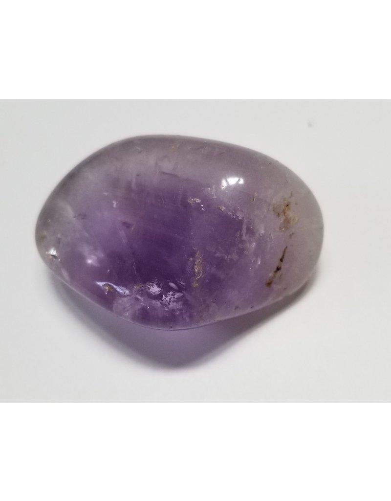 Amethyst tumbled stone 2 cm round large