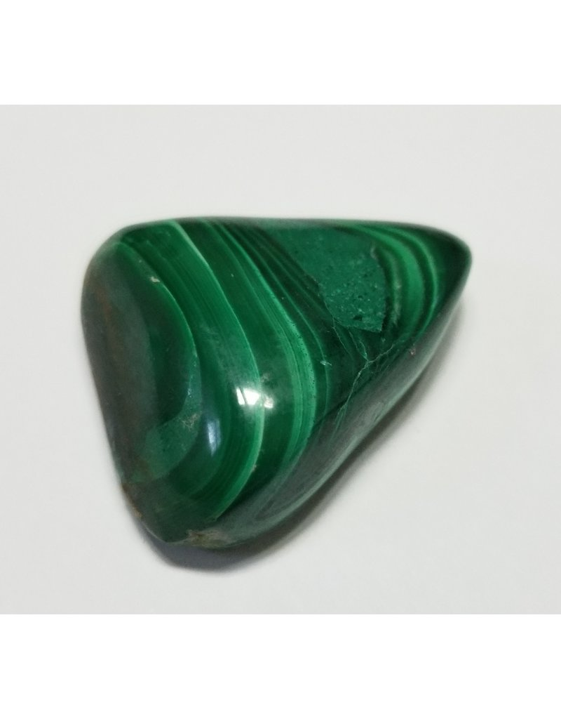 Malachite Polished crystal stone 3 cm large