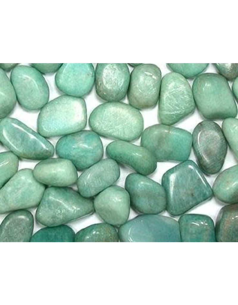 Amazonite tumbled  1 cm ea