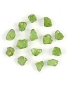 Peridot natural raw small chunks