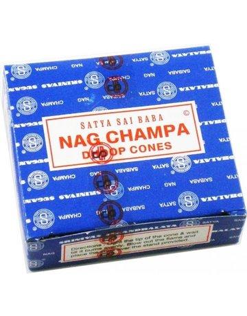Frontier Coop Sai Baba Nag Champa Incense Cones 12 Cones
