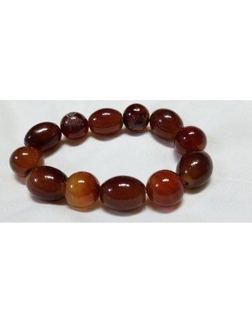 Jasper  Large beads  elastic bracelet