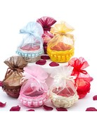 Medium Gift Basket, Box or Organza Ensemble