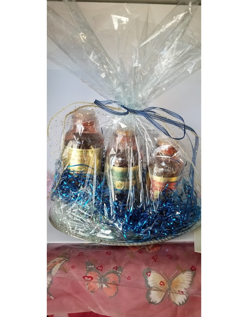 Healingifts Gift Baskets Green,Oolong,Peppermint Tea Gift Ensemble