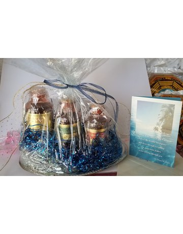 Medium Gift Basket, Box or Organza Ensemble 6 x 12 inches