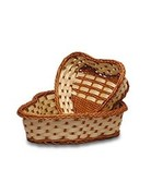 Healingifts Large Gift Basket, Box or Organza Ensemble