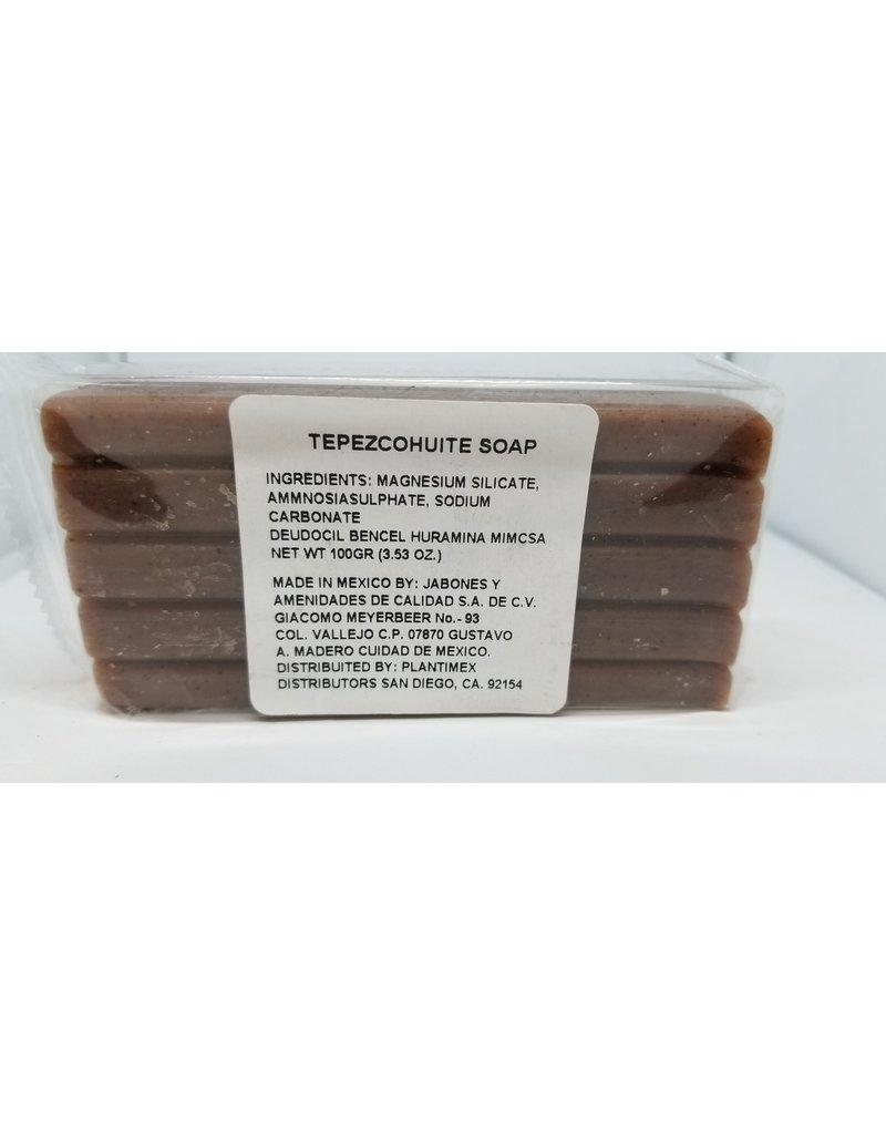 Tepezcohuite Soap Jabon 3.7 oz  175 g