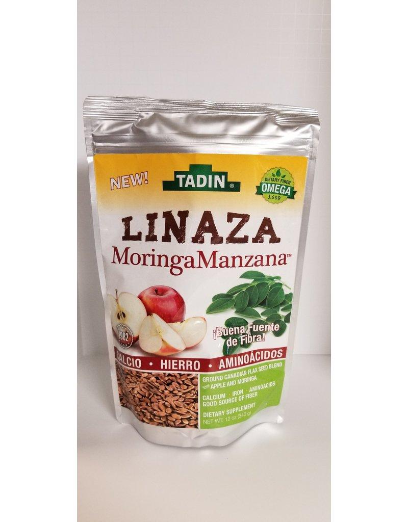 TAdin Linaza  Moringa Manzana Flax Seed Moringa Apple  12 oz 340 g