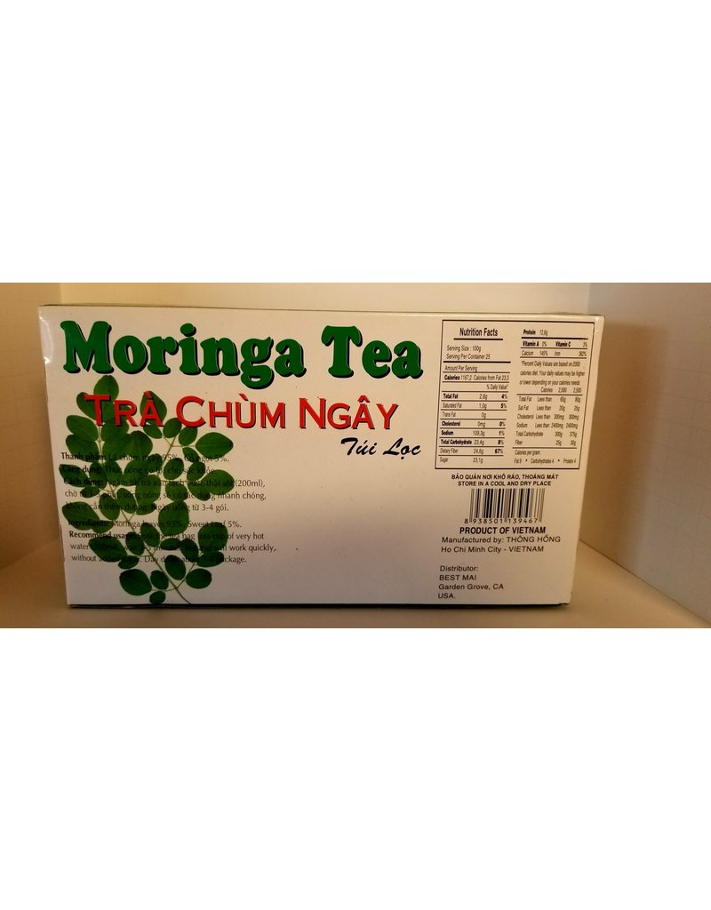 Thong Hong Moringa tea 100 tea bags