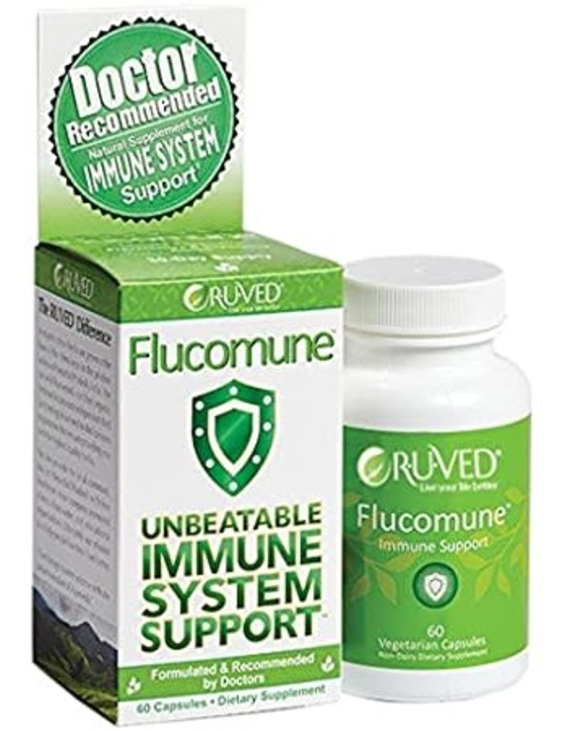 R*U*Ved Flucomune Immune System Support 60 caps