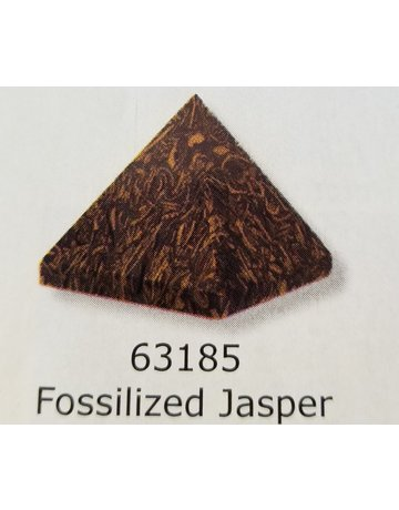 Kheops Gemstone Pyramid - Fossilized Jasper