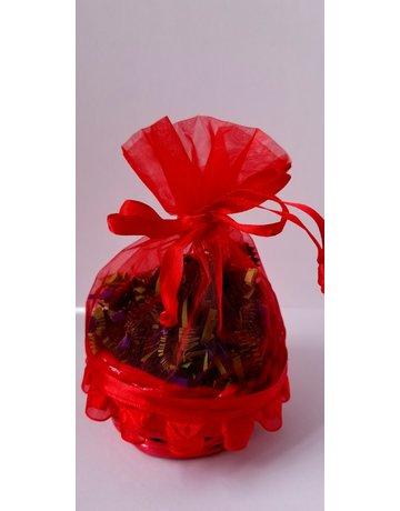 Red small gift basket