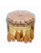 Backflow Incense Cones- Sandalwood fragrance (Pack of 70)