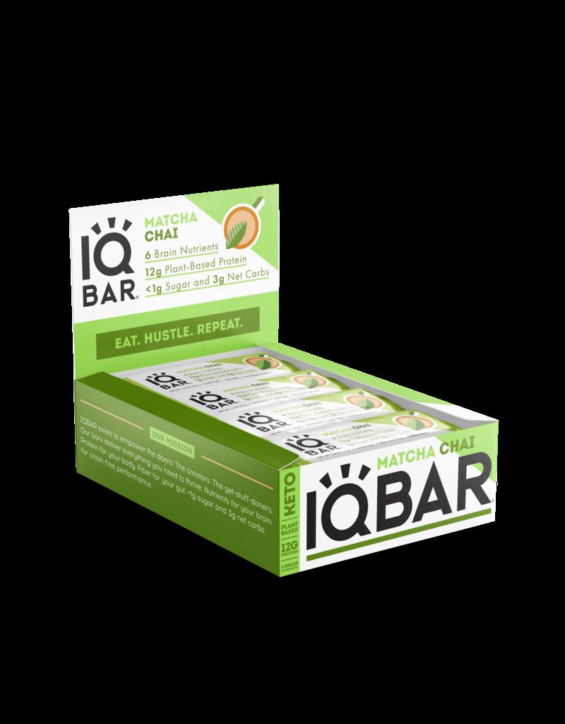 IQBAR IQ Bar Matcha Chai net wt 1.6 oz (45g)