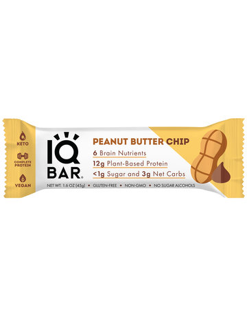 IQBAR IQ Bar Peanut Butter Chip 1.6 oz