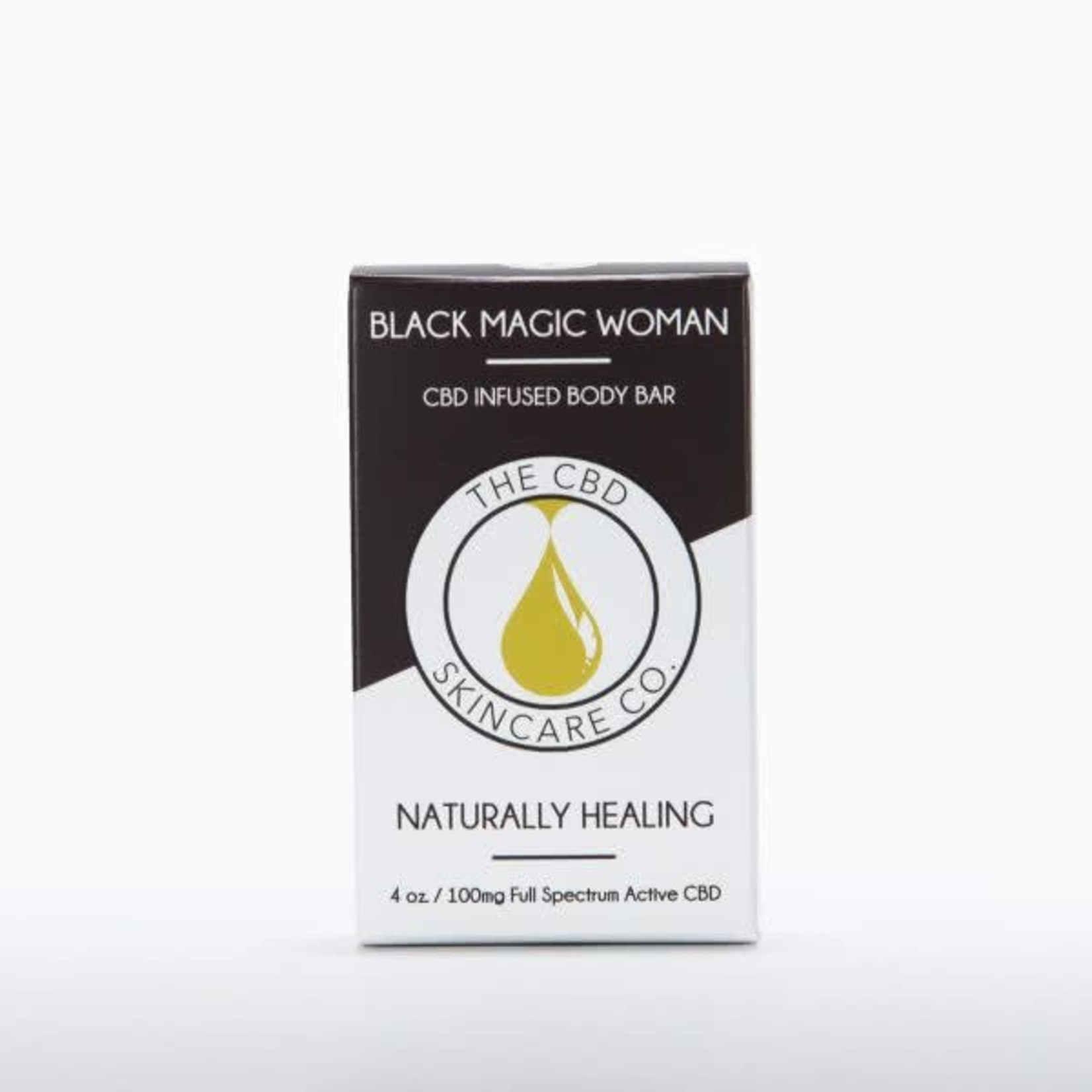 CBD Skincare Company Black Magic Woman Body Bar Soap CBD 100mg