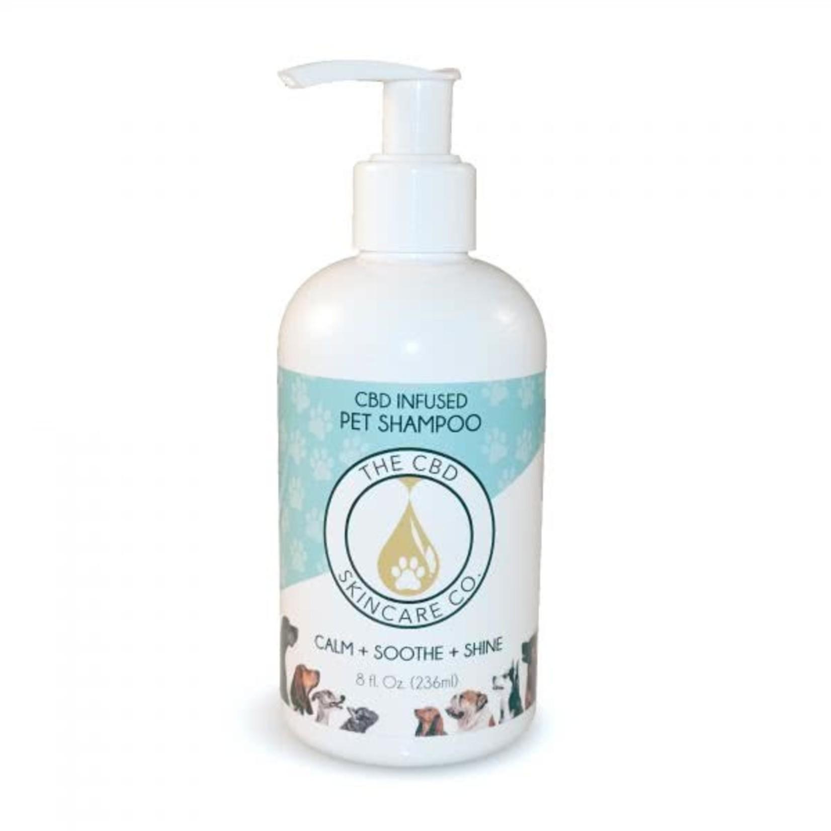 CBD Skincare Company Organic CBD Dog and Pet Shampoo