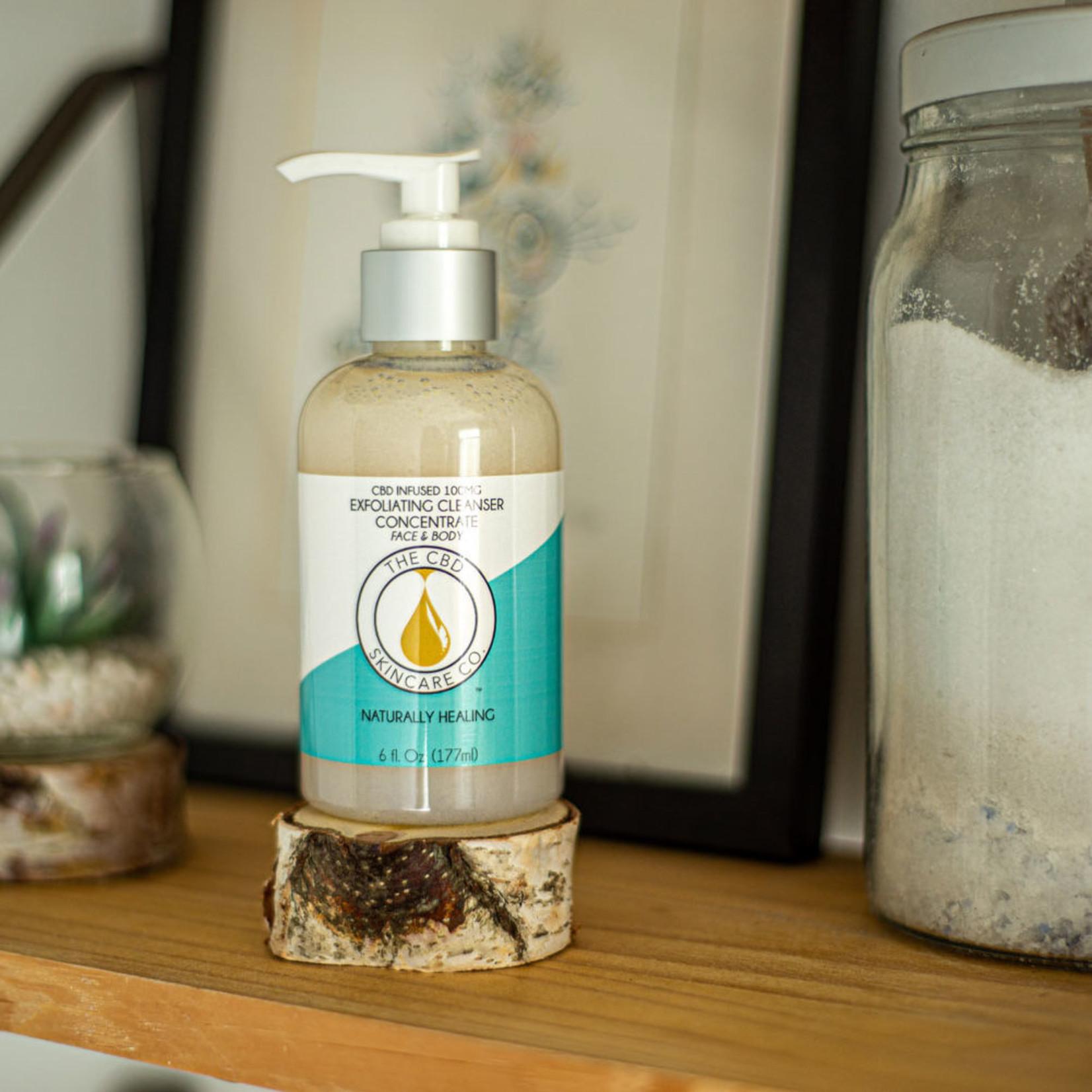 CBD Skincare Company CBD Infused Exfoliating Cleanser