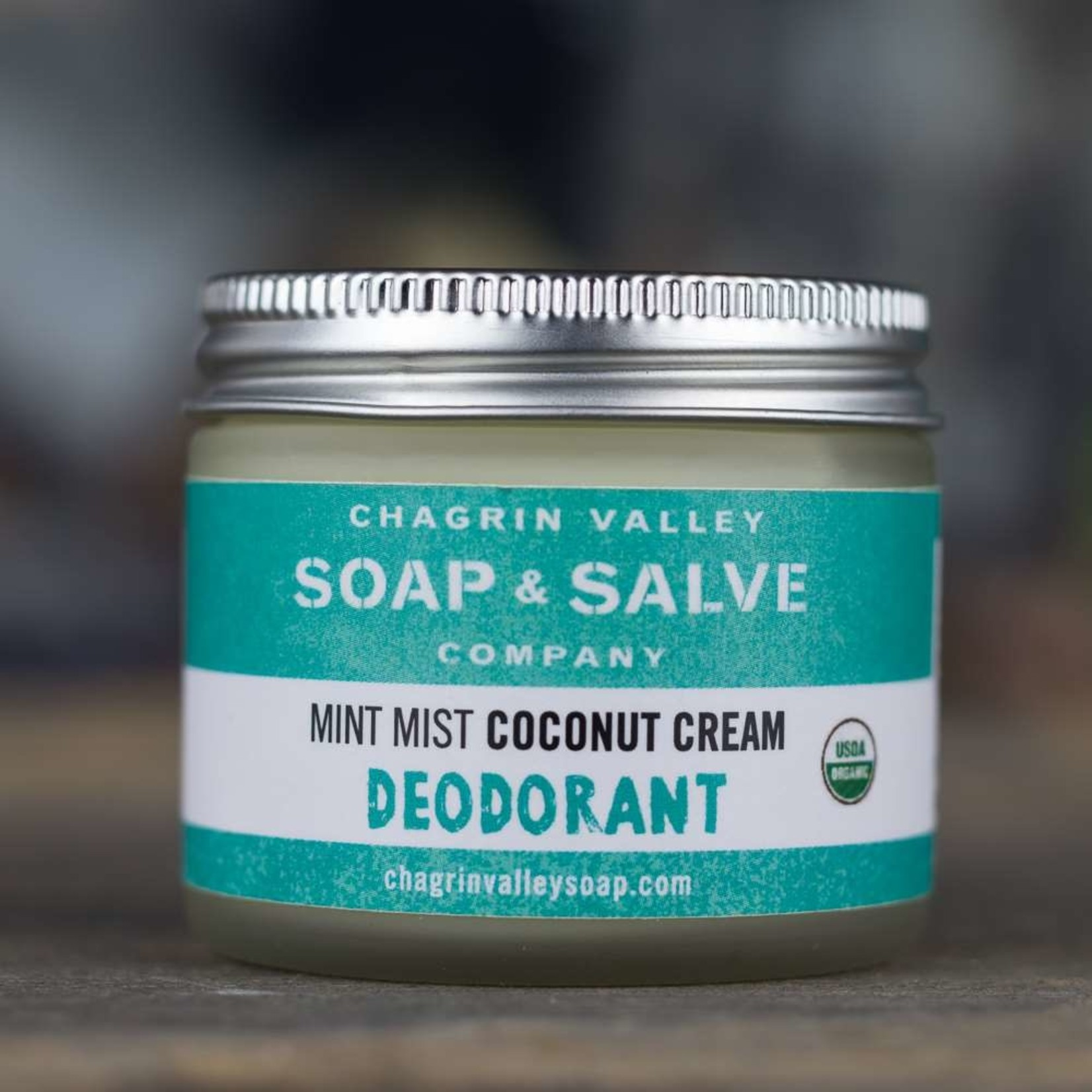 Chagrin Valley Soap and Salve Mint Mist Coconut Cream Deodorant