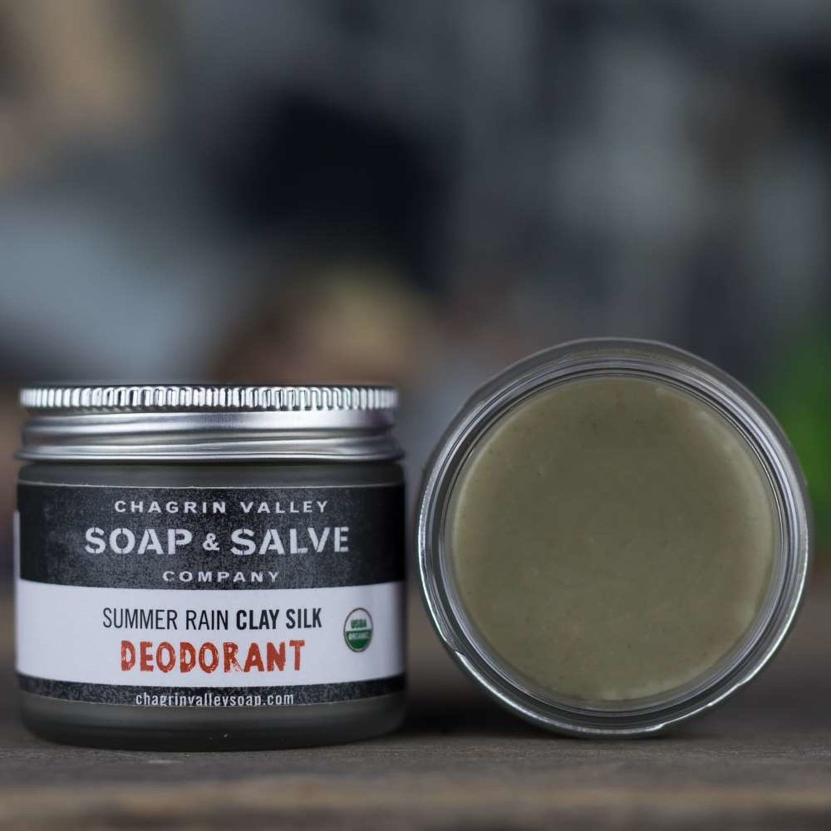 Chagrin Valley Soap and Salve Summer Rain Clay Silk Deodorant