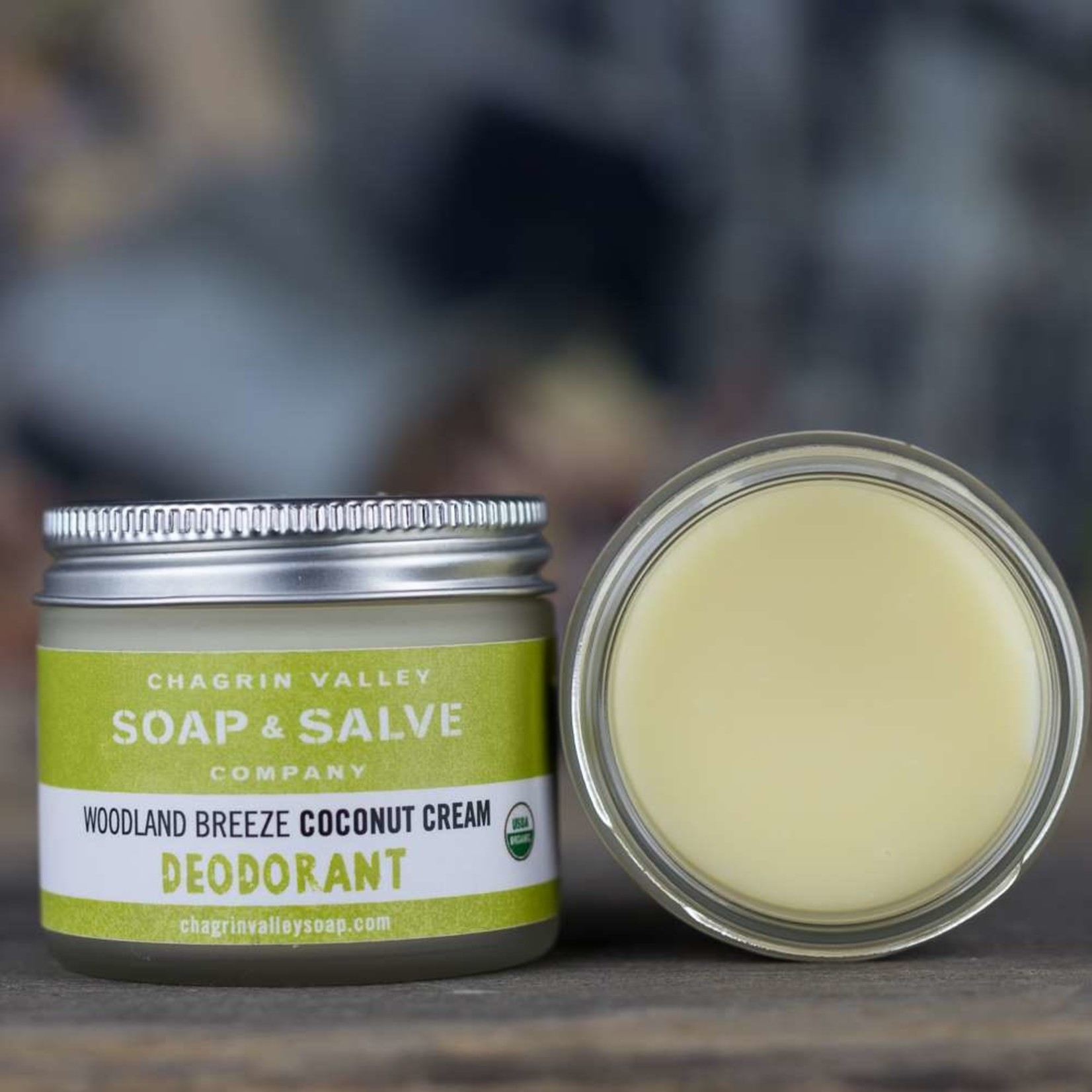 Chagrin Valley Soap and Salve Woodland Breeze Coconut Cream Deodorant