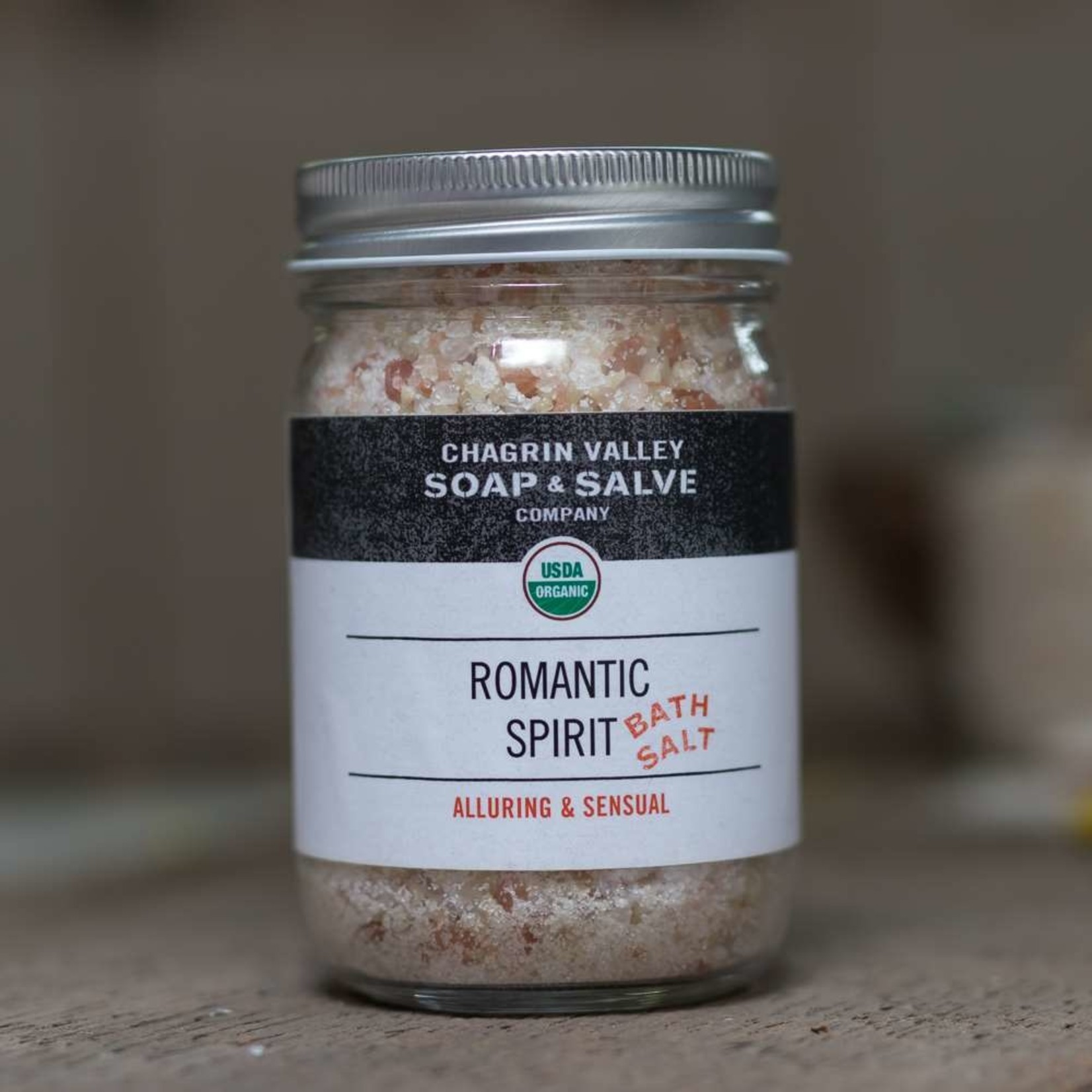Chagrin Valley Soap and Salve Romantic Spirit Bath Salts