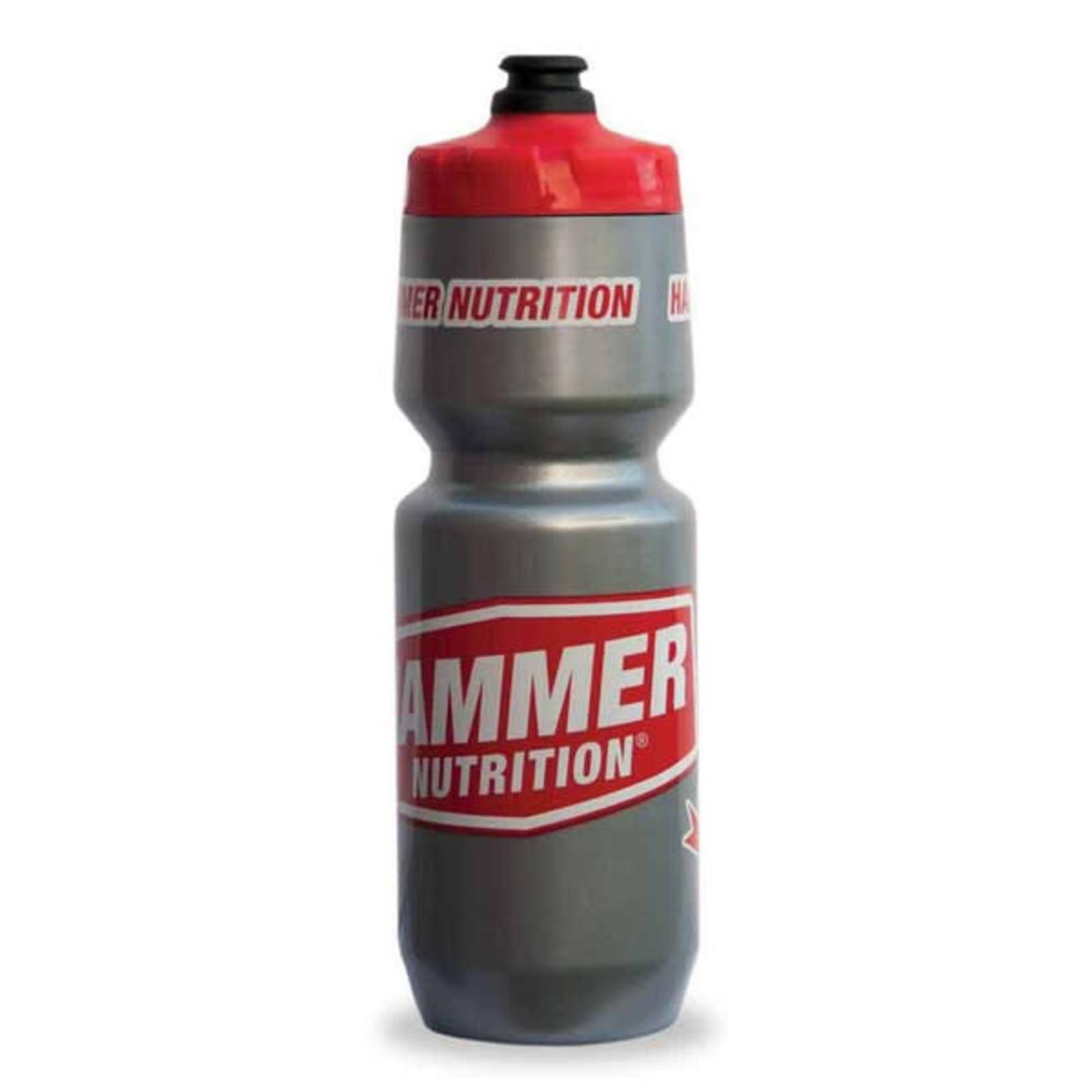 Hammer Nutrition Purist Water Bottle 26oz Silver