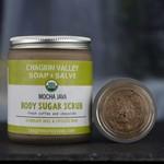 Chagrin Valley Soap and Salve Mocha Java Body Sugar scrub 10oz Jar