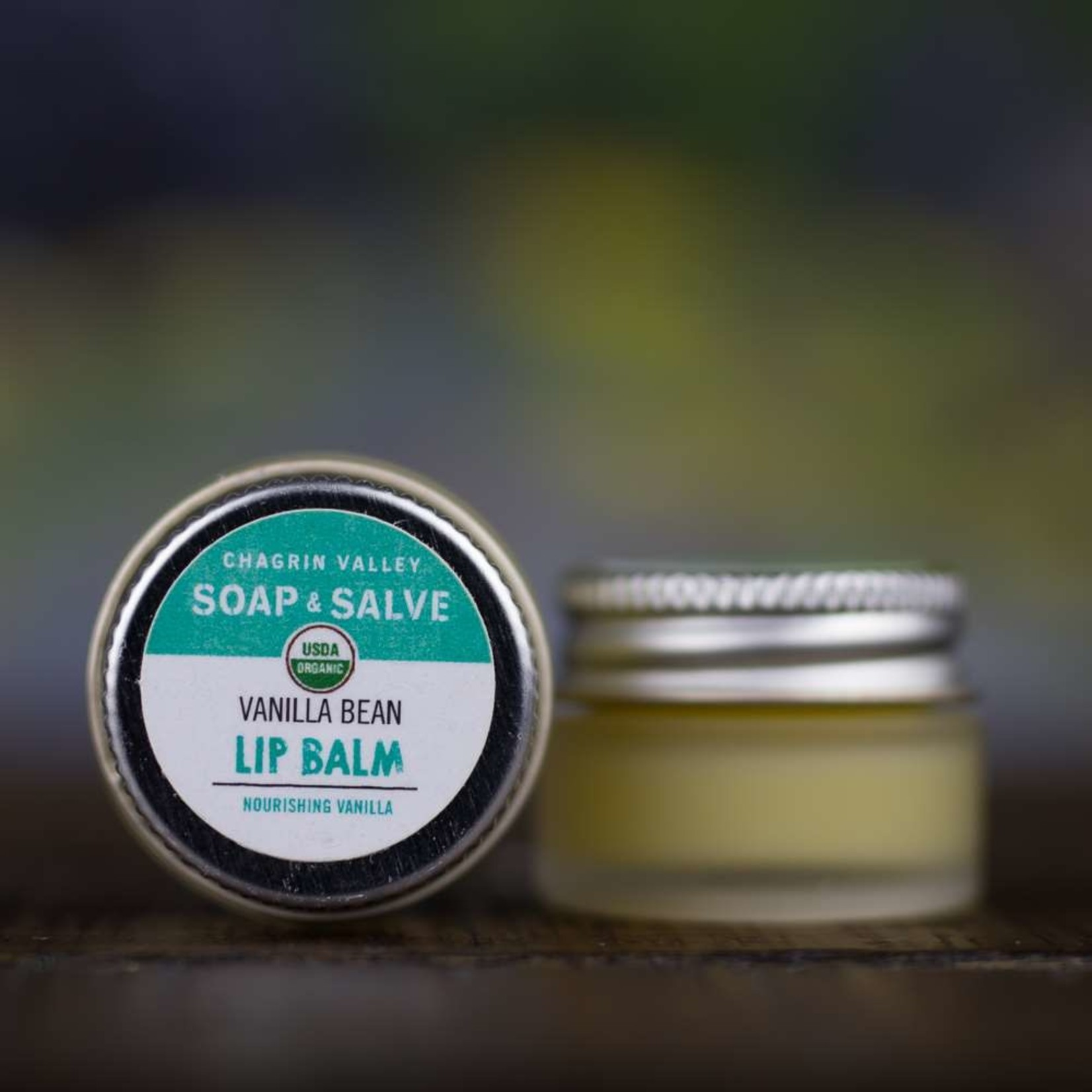 Chagrin Valley Soap and Salve Vanilla Bean Lip Balm .25oz Jar