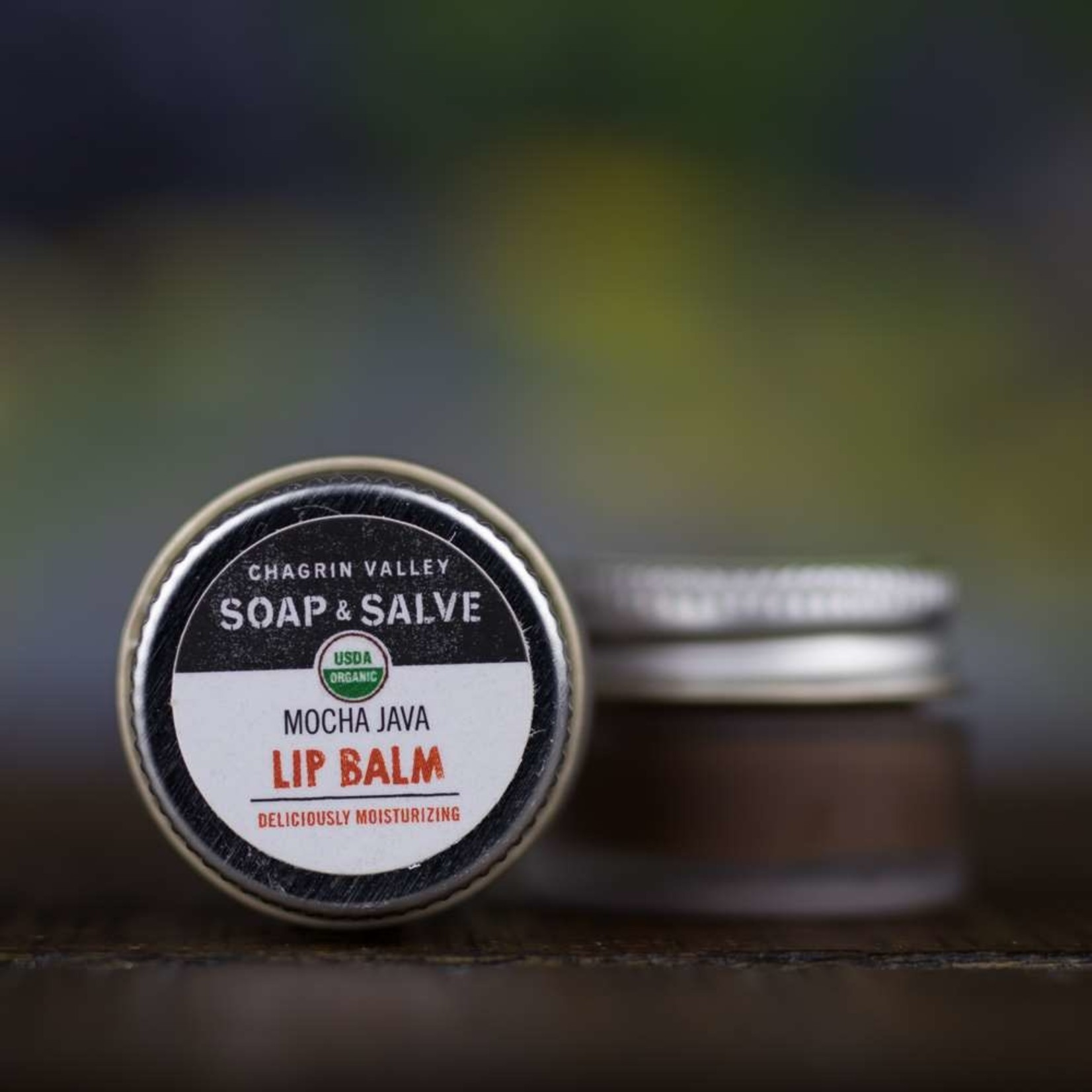 Chagrin Valley Soap and Salve Mocha Java Lip Balm .25oz Jar