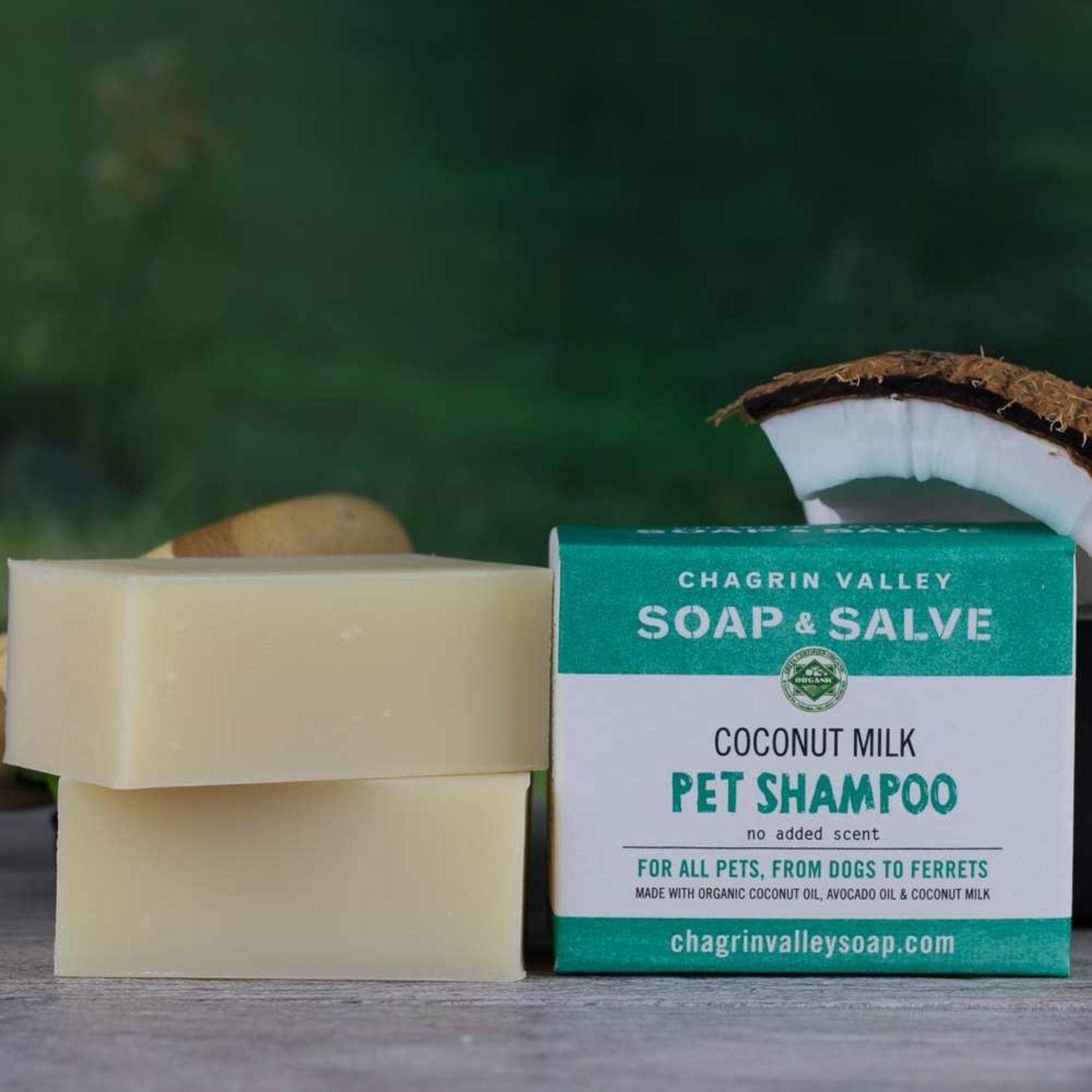 Chagrin Valley Soap and Salve Creamy Coconut Milk Dog/Pet Shampoo Bar